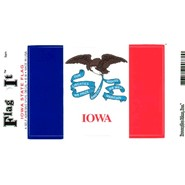 Iowa Decal 3.5x5in