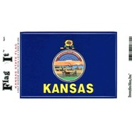 Kansas Decal 3.5x5in