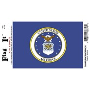 Air Force Decal 3.5x5in