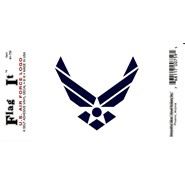 Air Force Wings Decal 3.5x5in