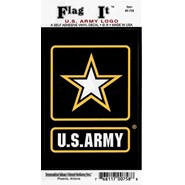 Army Strong Decal 3.5x5in
