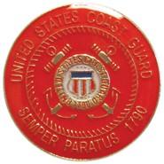Coast Guard Lapel Pin