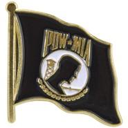POW-MIA Flag Pin