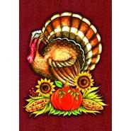 Big Turkey 12x18in Garden Flag