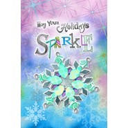 Sparkly Holidays 28x40in House Flag
