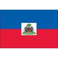 Haiti with Seal Nylon Flag