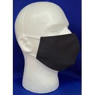 Solid Black Face Mask