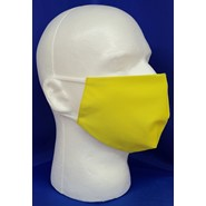 Solid Safety Green Face Mask