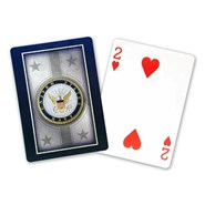 Navy Playing Cards by Springbok