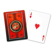 Marine Corps Playing Cards by Springbok