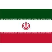 Iran Nylon Flag