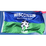 Wisconsin April Fools 3x5ft Nylon Flag