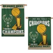 Milwaukee Bucks Champions 28x40in Banner