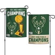 "Milwaukee Bucks Champions 12""x18"" Garden Flag"