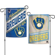 """Brewers Coopers 2-Sided 12.5""""x18"""" Garden Flag"""