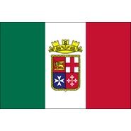 Italian Ensign Nylon Flag