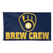 Milwaukee Brewers Brew Crew 3x5ft Flag