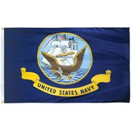 Navy Light Weight Polyester Flag