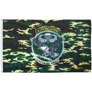 Camo Airborne Flag