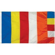 Buddhist Nylon Flag