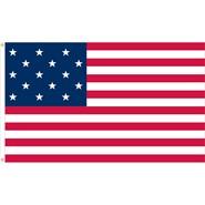 U.S. 15 Star Historical Flag