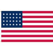 U.S. 24 Star Historical Flag