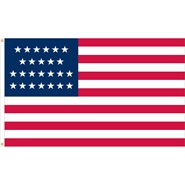 U.S. 25 Star Historical Flag