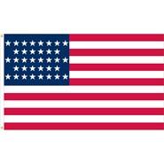U.S. 36 Star Historical Flag