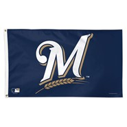 Milwaukee Brewers 3x5ft Flag