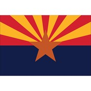 Arizona State Nylon Flag