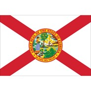 Florida State Nylon Flag