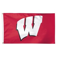 Wisconsin Univ 3x5ft Flag