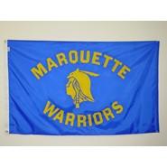 Marquette Warrior Flag (Blue)