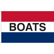 Boats Message Flag