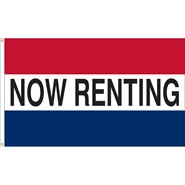 Now Renting Real Estate Flag