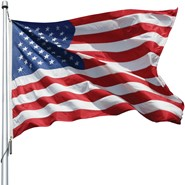 2.5x4ft U.S. Flag